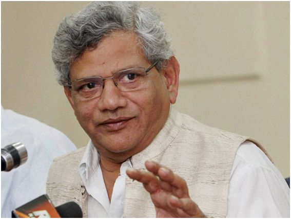 If LS polls can be held in J&K, why not assembly polls: Yechury to GoI