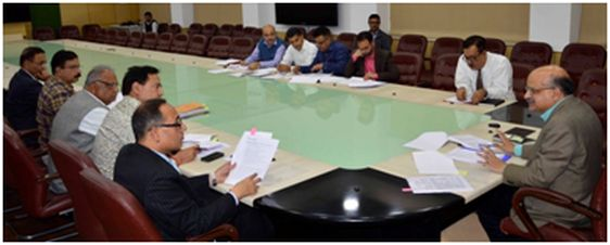 CS reviews progress on flagship schemes in power sector