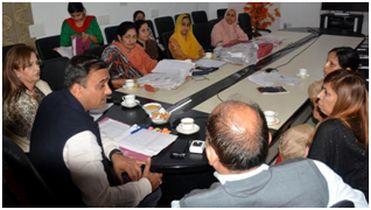 DC Jammu reviews progress under 'Ladli Beti'