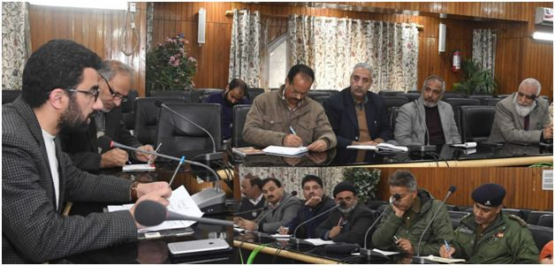 DC Srinagar reviews Eid-e-Milad arrangements