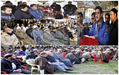 DDC Kupwara chairs public darbars in Lolab