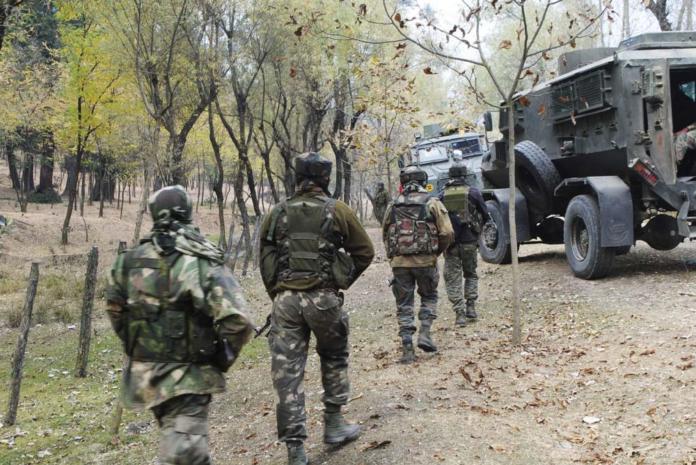 Brief shoot out at Kulgam, militants flee, searches on