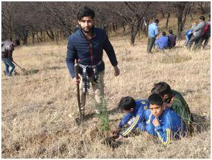 Forest Deptt organises plantation drive at Ganderbal