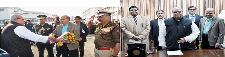 Guv Malik reviews functioning of Govt deptts at civil sectt Jammu