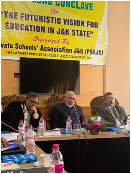 "JKSEC organises daylong conclave ""The Futuristic Vision For Education In J&K"""