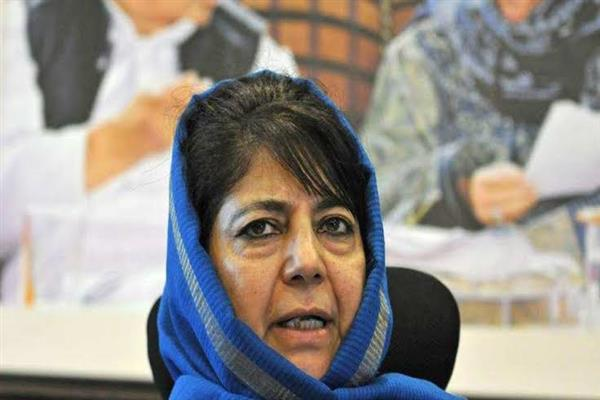 No fiddling with the constitutional status of J&K: Mehbooba