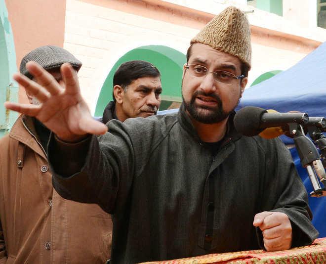 Fighting for peaceful resolution of Kashmir, that's not terrorism: Mirwaiz